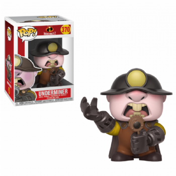 Pre-Order Funko Pop! Vinyl Disney The Incredibles 2: Underminer Figure